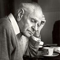 Karl Popper  ©Ingrid Von Kruse